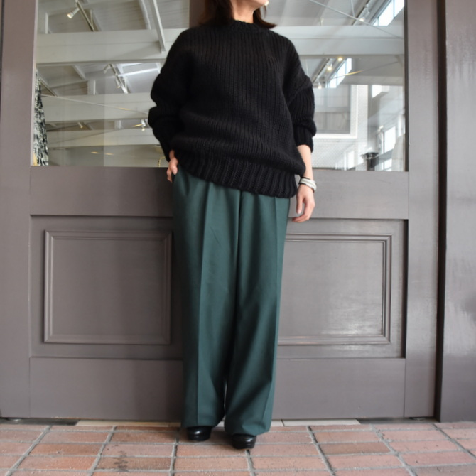 【40% off sale】(クリスタセヤ)/ FLANNEL LARGE PYJAMA PANTS -3colors- #09SP-F(2)