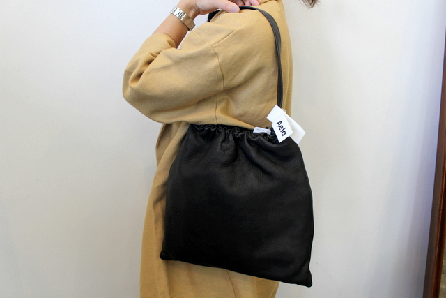 Aeta(アエタ)/DEER LEATHER SHOULDER M_DA02(2)