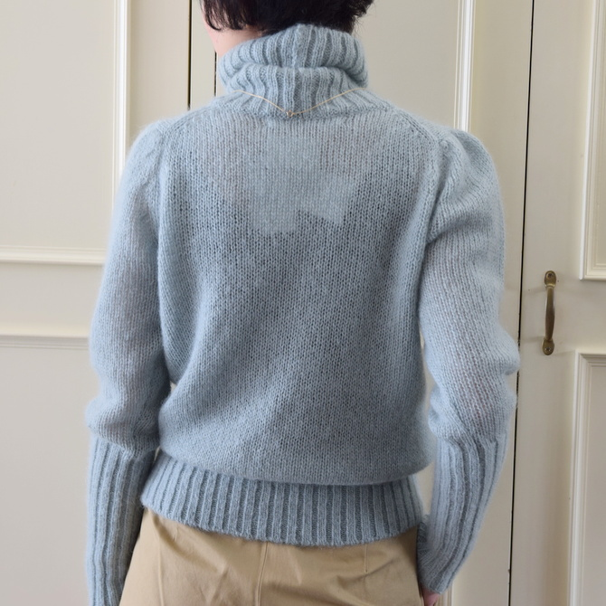 【50%OFF SALE】Bilitis dix-sept ans(ビリティス・ディセッタン) Mohair Turtle Neck(2色展開)2914-509【K】(3)