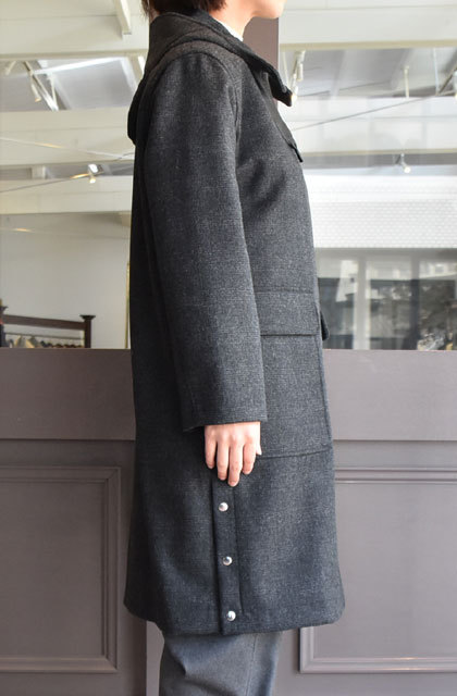 TENNE HANDCRAFTED MODERN(テン ハンドクラフテッドモダン) SUPER 140'S FOODED COCOON COAT(3)