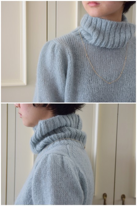 【50%OFF SALE】Bilitis dix-sept ans(ビリティス・ディセッタン) Mohair Turtle Neck(2色展開)2914-509【K】(4)