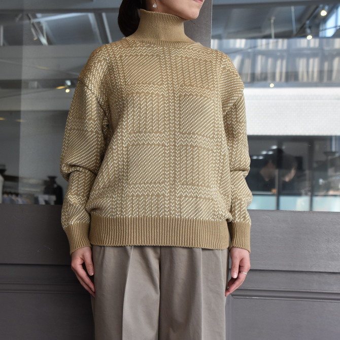 【40% off sale】AURALEE(オーラリー) HARD TWIST MERINO JQ KINT(2色展開) #A9AP03FJ【Z】(4)