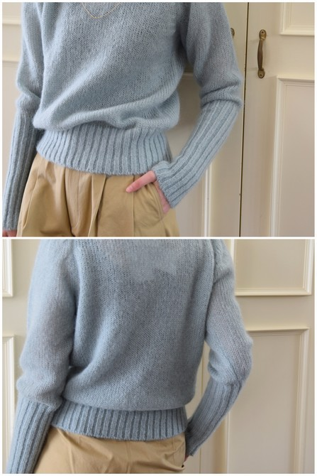【50%OFF SALE】Bilitis dix-sept ans(ビリティス・ディセッタン) Mohair Turtle Neck(2色展開)2914-509【K】(5)
