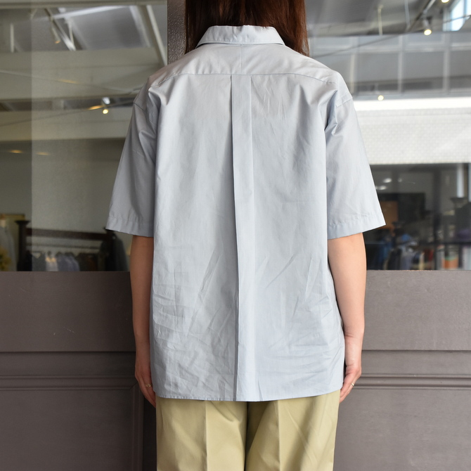 LENO&Co.(リノアンドコー) / ONE PIECE COLLAR OPEN SHIRT【Z】(5)