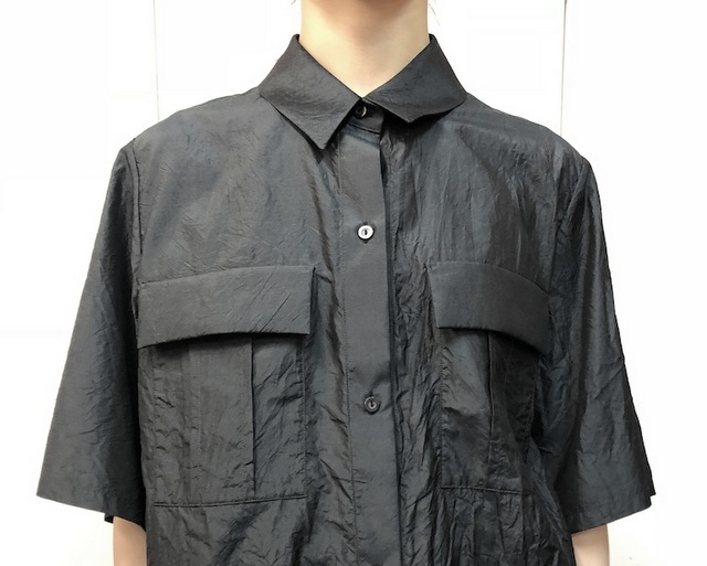 【30% off sale】humoresque(ユーモレスク) pocket shirt(2色展開)【K】(5)