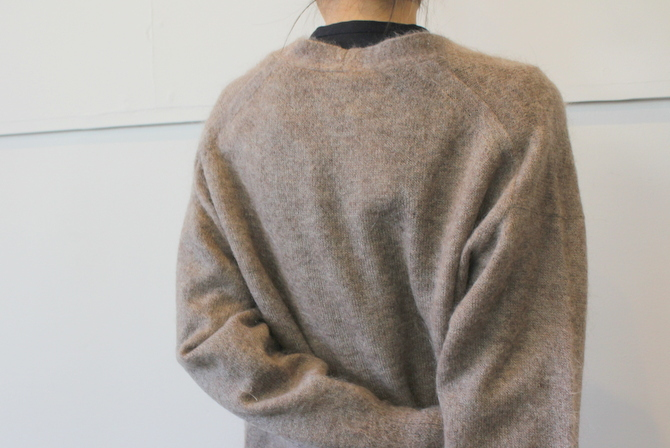 【30%OFF SALE】YLÉVE(イレーヴ) 【19AW】KID MOHAIR KNIT LONG CARDIGAN_168-9264026【K】(5)