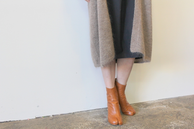 【30%OFF SALE】YLÉVE(イレーヴ) 【19AW】KID MOHAIR KNIT LONG CARDIGAN_168-9264026【K】(6)