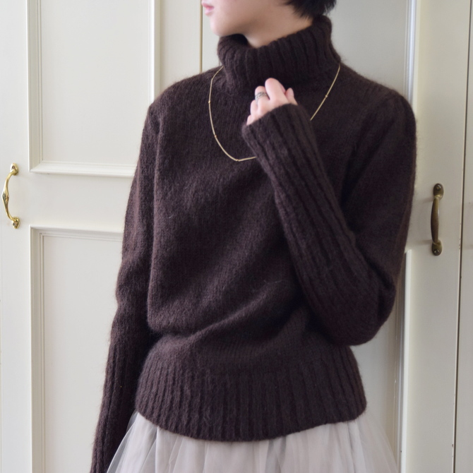 【50%OFF SALE】Bilitis dix-sept ans(ビリティス・ディセッタン) Mohair Turtle Neck(2色展開)2914-509【K】(7)
