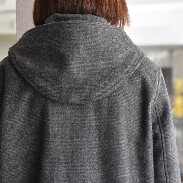 TENNE HANDCRAFTED MODERN(テン ハンドクラフテッドモダン) SUPER 140'S FOODED COCOON COAT(7)