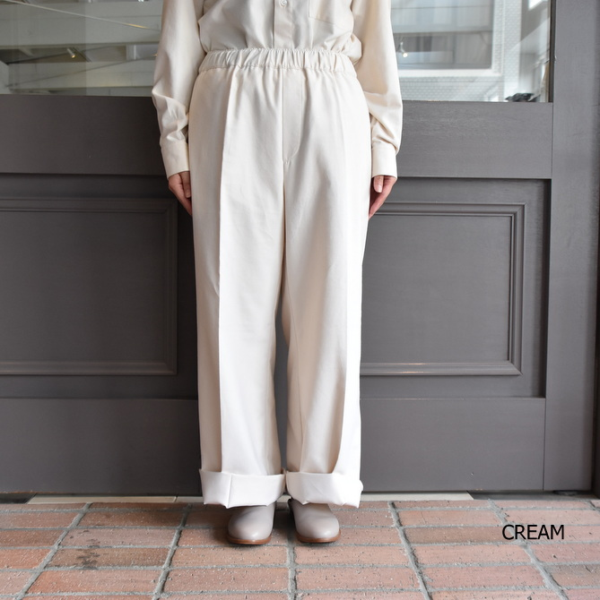 【40% off sale】(クリスタセヤ)/ FLANNEL LARGE PYJAMA PANTS -3colors- #09SP-F(7)