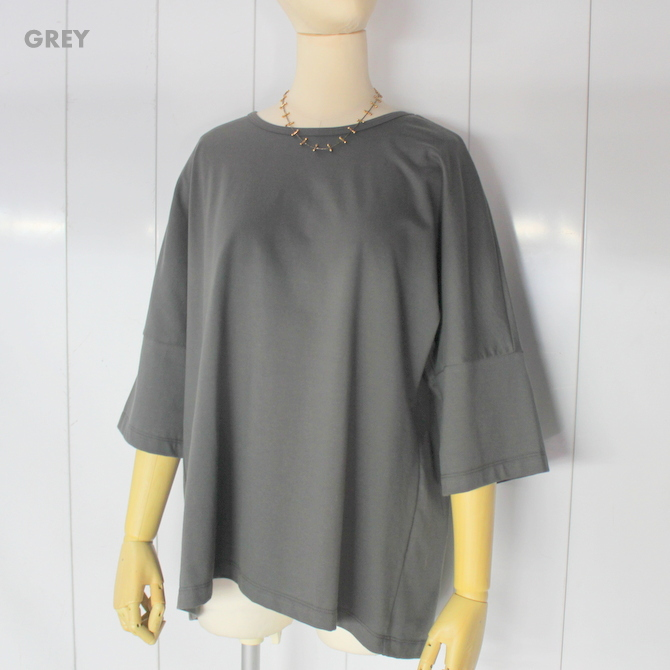 【30%OFF SALE】Graphpaper(グラフペーパー)S/S Dolman Sleeve Tee(2色展開)_GL193-70073B【K】(7)