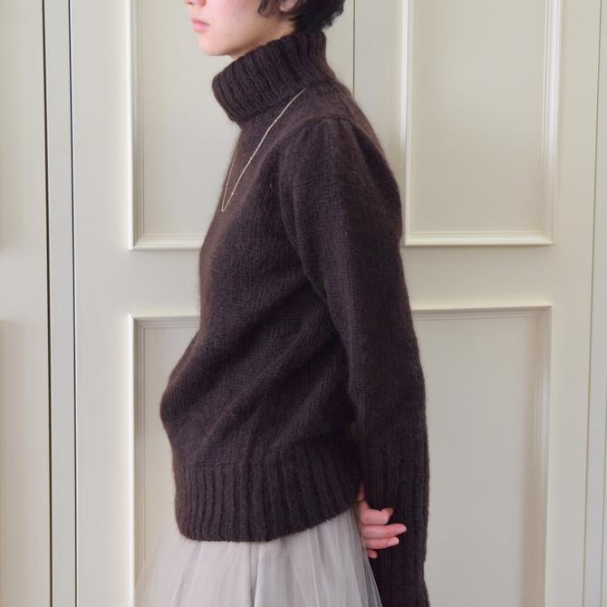 【50%OFF SALE】Bilitis dix-sept ans(ビリティス・ディセッタン) Mohair Turtle Neck(2色展開)2914-509【K】(8)