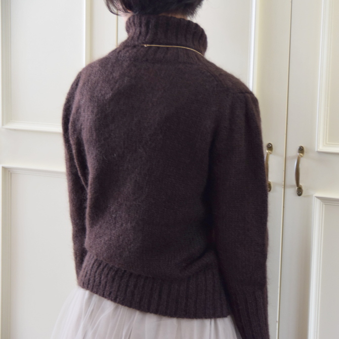 【50%OFF SALE】Bilitis dix-sept ans(ビリティス・ディセッタン) Mohair Turtle Neck(2色展開)2914-509【K】(9)