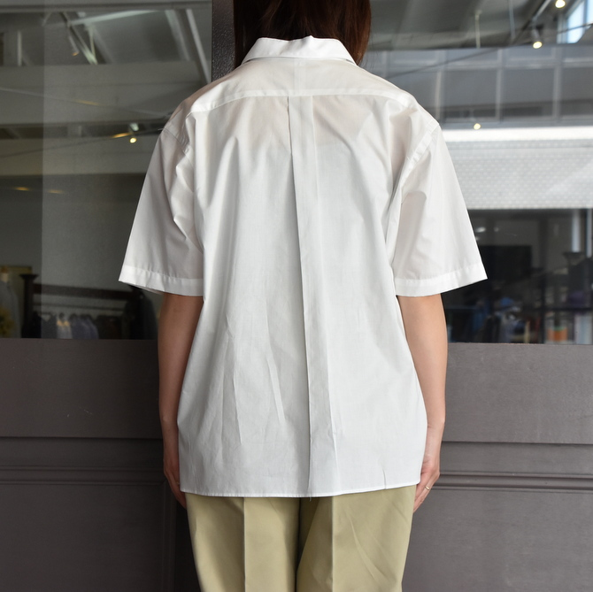 LENO&Co.(リノアンドコー) / ONE PIECE COLLAR OPEN SHIRT【Z】(9)