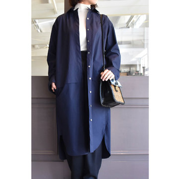 TENNE HANDCRAFTED MODERN(テン ハンドクラフテッドモダン) LAYERED SHIRT DRESS