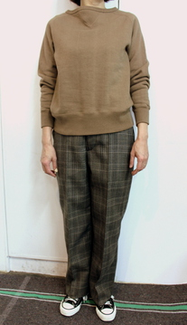 LENO&Co.(リノアンドコー) / WOOL GRENCHECK TROUSERS