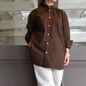 【30%off sale】 CristaSeya(クリスタセヤ)/ COTTON MAO SHIRT