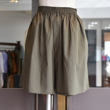 【30%off sale】 CristaSeya(クリスタセヤ)/ LIGHT COTTON MAXI MAXI BOXER SHORT(Khaki)