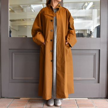 CristaSeya(クリスタセヤ)/ OVERSIZED COTTON TRENCH (Noisette)