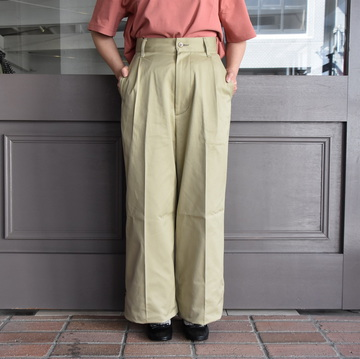 LENO&Co.(リノアンドコー) / BAGGY CHINO TROUSERS【Z】