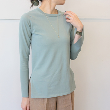 【30%OFF SALE】AURALEE(オーラリー) SUPER HARD TWIST KNIT P/O_A9SP03HT【K】