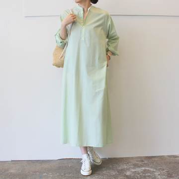 【30%OFF SALEAURALEE(オーラリー) FINX SILK STRIPE LONG OP_A9SD03FS【K】