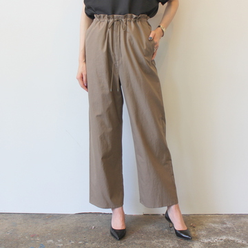 【30%OFF SALE】AURALEE(オーラリー) WASHED FINX TWILL EASY WIDE PANTS_A9SP05TN【K】