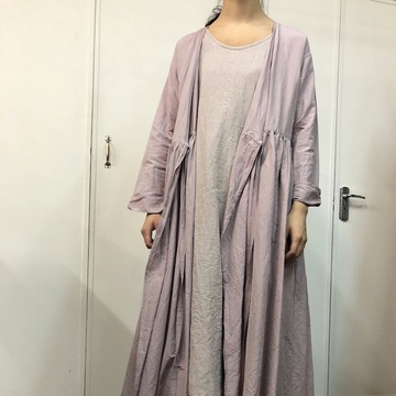 TOUJOURS(トゥジュー)Pleated cache-coeur dress【K】