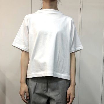 humoresque(ユーモレスク) bottle neck tee(WHITE)【K】