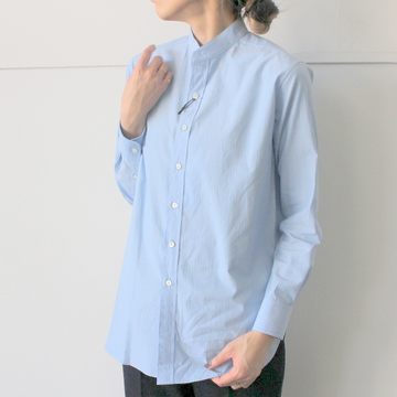 AURALEE(オーラリー) WASHED FINX TWILL SHIRTS_A9AS03TN【K】