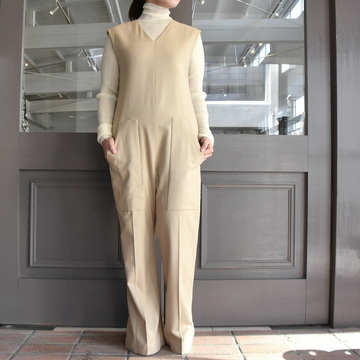 【40% off sale】AURALEE(オーラリー)  SUPER SOFT WOOL FLANNEL JUMPSUIT #A9AT04WF