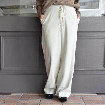 AURALEE(オーラリー)  SUPER SOFT WOOL FLANNEL EASY PANTS (2色展開)#A9AP07WF
