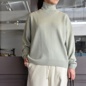 【40% off sale】AURALEE(オーラリー)/ BABY CASHMERE KNIT TURTLE NECK P/O (2色展開) #A9AP05BC