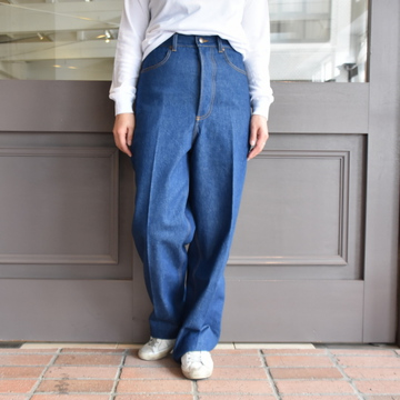 【30% off sale】(クリスタセヤ)/ JAPANESE HEAVY DENIM HIGHWAISTED JEANS #04ED-T