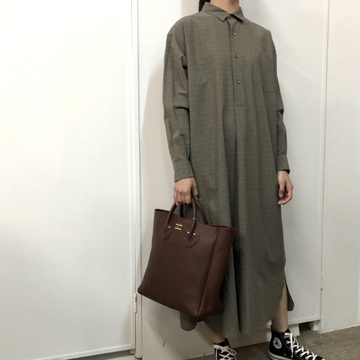 LENO&Co.(リノアンドコー) / PULL OVER DRESS _L1902DR002【K】