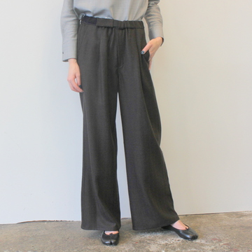 Graphpaper(グラフペーパー)Herringbone Wide Cook Pants_GL193-40015【K】
