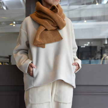 TENNE HANDCRAFTED MODERN(テン ハンドクラフテッドモダン) BACK KNIT PULLOVER #PU002-019