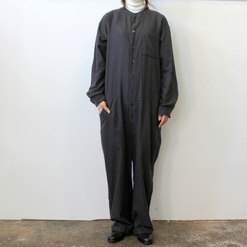 TOUJOURS(トゥジュー)Band Collar All-in-one Suit 【K】_KM31LP04