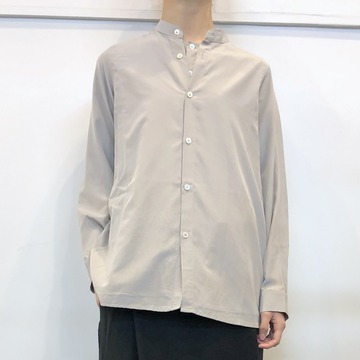 ÉCOLE DE CURIOSITÉS(エコールドキュリオジテ)SILK COTTON CREPE SHIRT_STEPHANE【K】