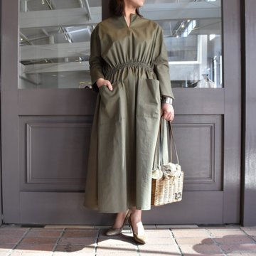 TENNE HANDCRAFTED MODERN(テン ハンドクラフテッドモダン) WEIST SHARING PULL ONE-PIECE #0003