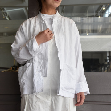 TOUJOURS(トゥジュー) China Coverall Jacket #KM32MJ05