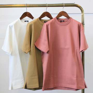 YLÉVE(イレーヴ) 【20SS】HEAVY WEIGHT COTTON P/O(3色展開)_168-0166043【K】