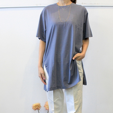 YLÉVE(イレーヴ) 【20SS】RECYCLE ORGANIC COTTON TEE(2色展開)_168-0168054【K】