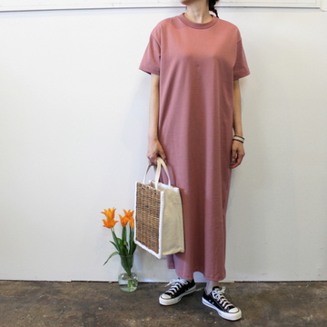 【30% off sale】YLÉVE(イレーヴ) 【20SS】HEAVY WEIGHT COTTON ONE-PIECE_564-168-0155566【Z】