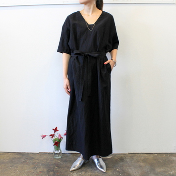 humoresque(ユーモレスク) 【20 SS】V-neck dress_HS2102【K】