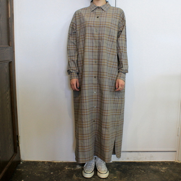 LENO&Co.(リノアンドコー) 【20AW】OPEN-FRONT DRESS_L2002DR001【K】