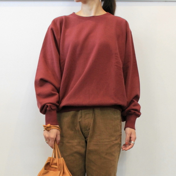 LENO&Co.(リノアンドコー) 【20AW】CREW NECK SWEAT SHIRT(3色展開)_H2002SW001【K】