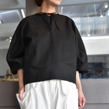 TENNE HANDCRAFTED MODERN(テン ハンドクラフテッドモダン) VOLUME SLEEVE PULLOVER #001BS