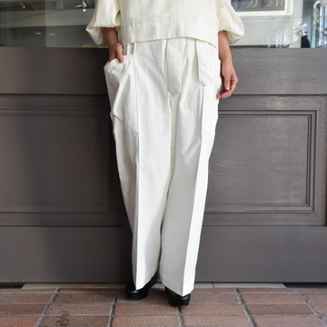 TENNE HANDCRAFTED MODERN(テン ハンドクラフテッドモダン) SHIRRING CORDUROY PANTS #007PT