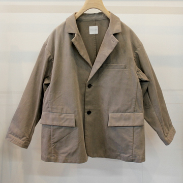 TOUJOURS(トゥジュー)【20AW】button sack jacket_KM33IJ01【K】